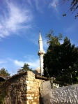 The tiled mosque