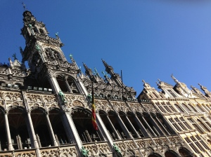 Grand'Place Brussels, sunny day