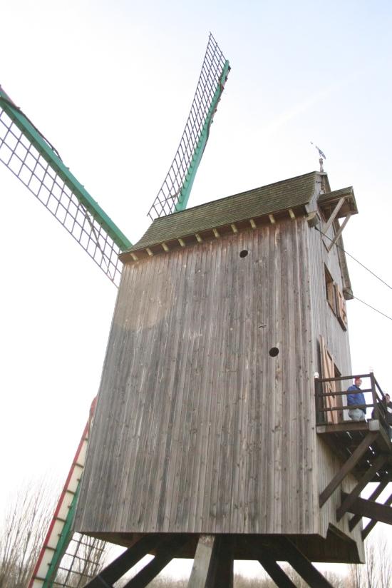 Last working windmill in Brussels