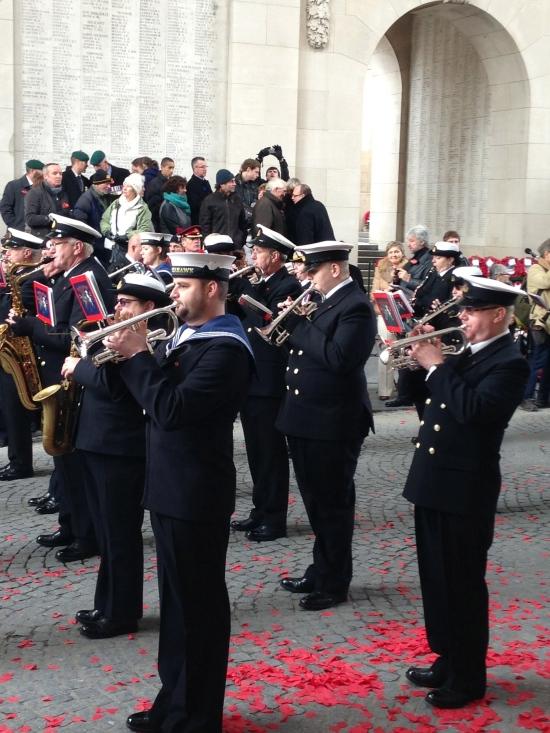 11th November Remembrance Service, Menen Gate, Ypres