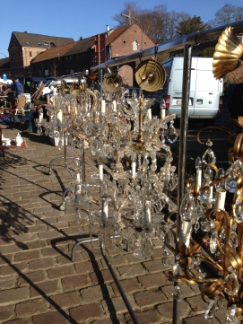 Chandeliers galore, Tongeren
