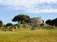 Talati de Dalt - remains of a pre-historic watch tower, Menorca