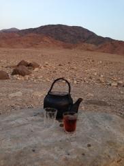 Tea & hospitality in the desert