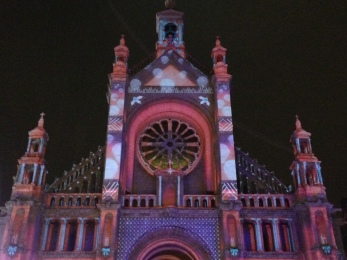 Cathedral of Ice, Winter Festival, Brussels 2014